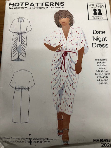 Hot Patterns  1264 - Date Night Dress