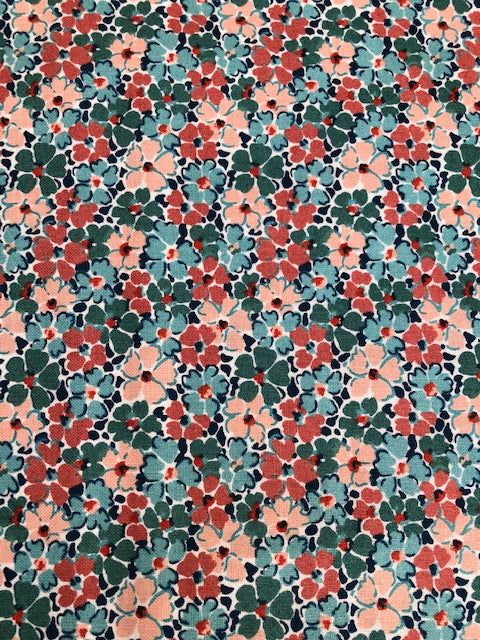 Liberty - Winterbourne Collection - Primula Posey C - Teal