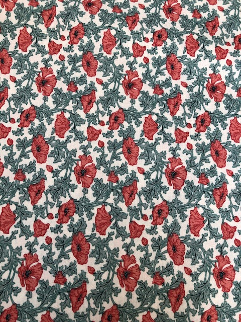 Liberty - Winterbourne Collection - Nina Poppy C - Teal