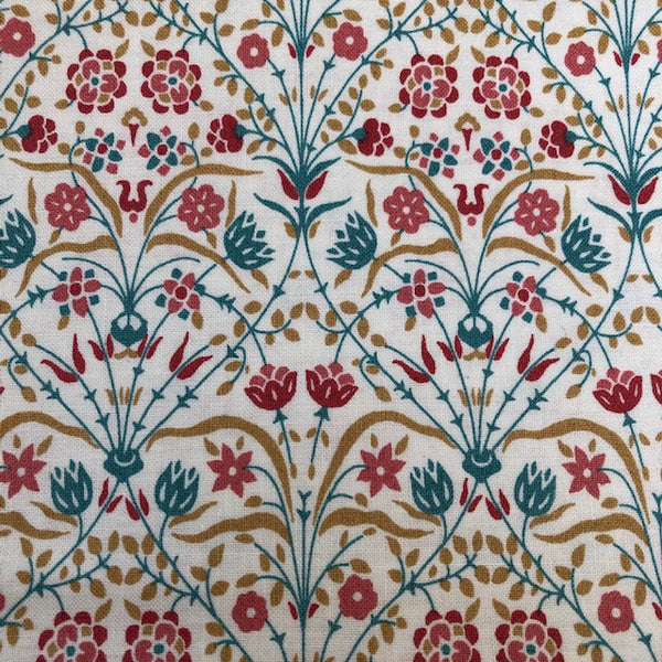Liberty - Winterbourne Collection - Bankart Fresco C - Teal