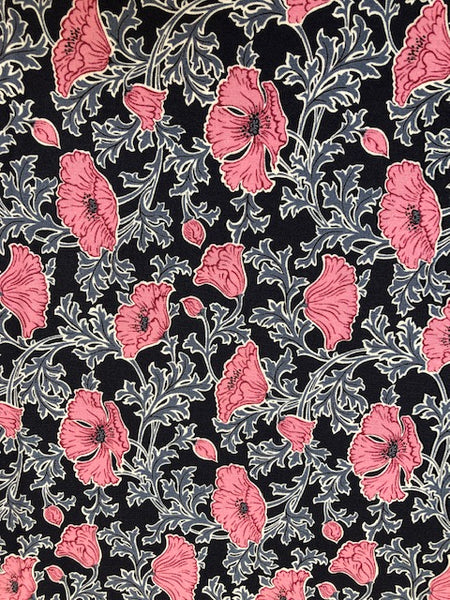 Liberty - Winterbourne Collection - Beatrice Poppy A - Pink