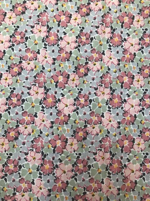 Liberty - Winterbourne Collection - Primula Posey B - Grey