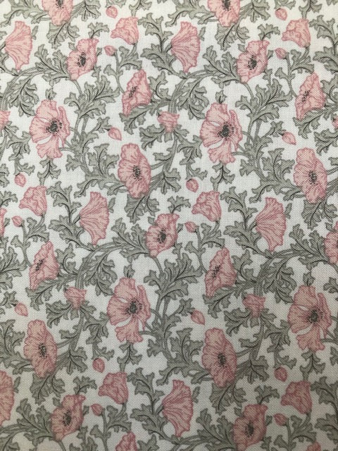 Liberty - Winterbourne Collection - Nina Poppy B - Grey