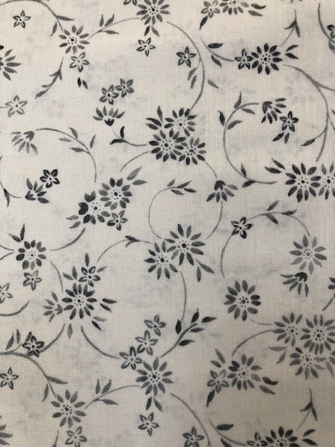 Liberty - Winterbourne Collection - Lois Daisy B - Grey