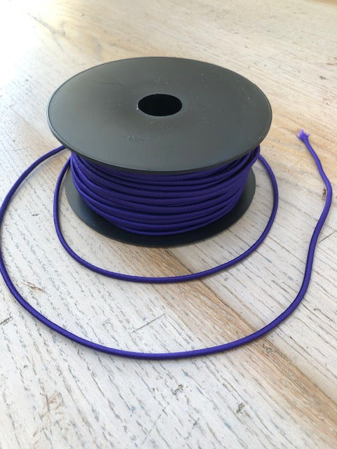 Purple Round Elastic  - 3MM