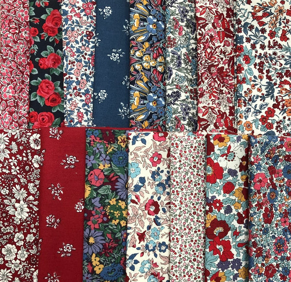Liberty - Winter Flower Show - 15 x Fat Quarter Pack