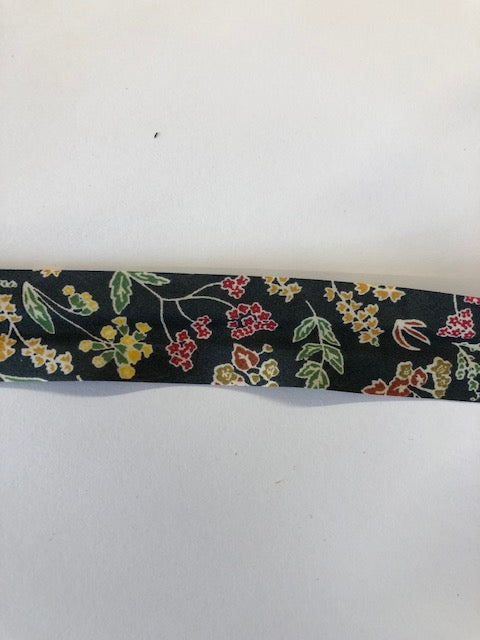 Liberty print Bias Binding - 25mm - by metre - floral