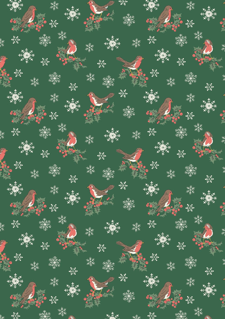 Liberty - A Festive Collection - Jolly Robin 04775747B
