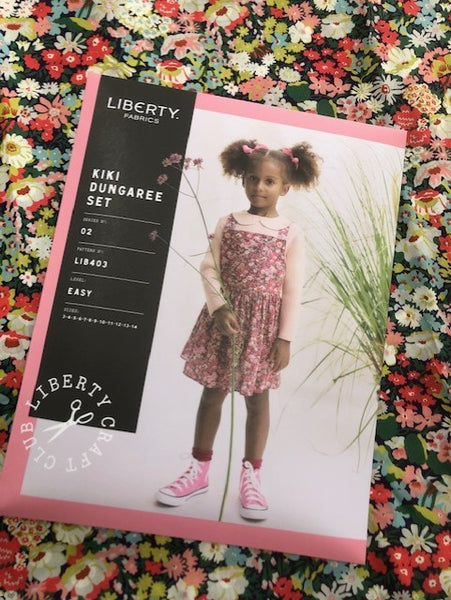 Liberty Kiki Dungaree Set