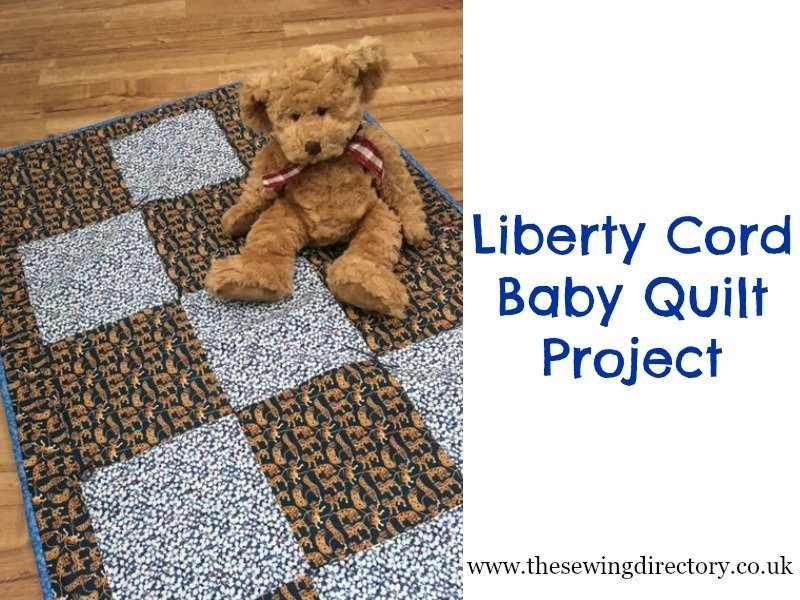 Liberty Cord Baby Quilt Pack