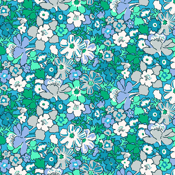Liberty Lifestyle - Bloomsbury Collection - Lytton - Blue/Green