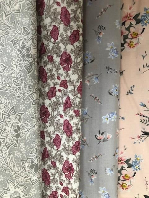 Liberty Winterbourne -   4 x Fat Quarter Pack 3