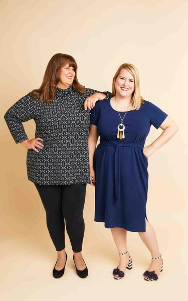 Cashmerette Pembroke Dress & Tunic- UK Sizes 16 - 32