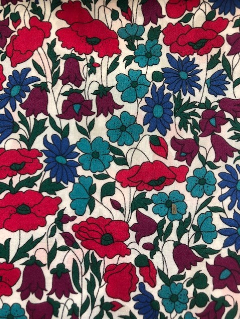Liberty Tana Lawn - LTL03634095N - Poppy and Daisy