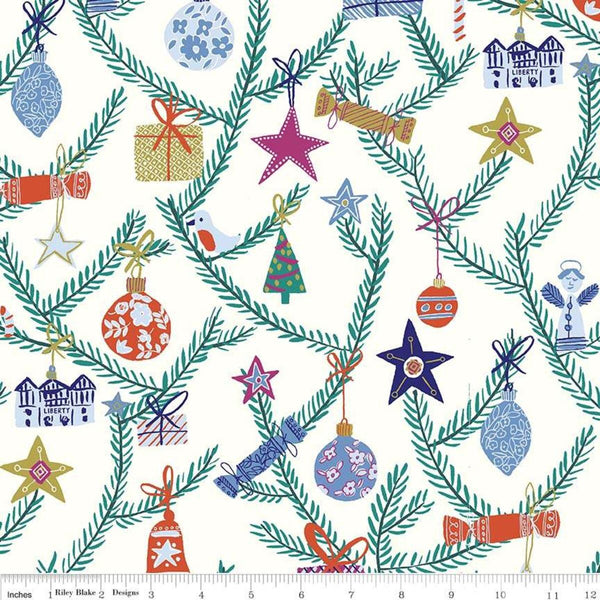 Liberty - 'Season's Greetings' Collection - Tree of Delight X