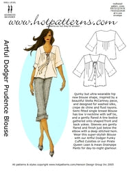 Hot Patterns 01 - Artful Dodger Prudence Blouse SPECIAL EDITION