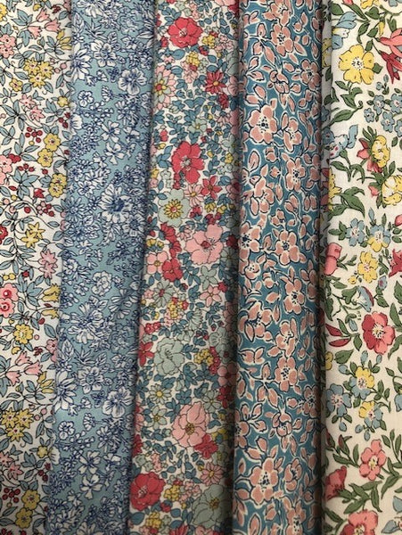 Liberty Spring Flower Show Collection  5 x Fat Quarter Pack (2)