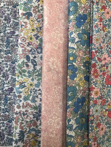 Liberty Spring Flower Show Collection  5 x Fat Quarter Pack (3)