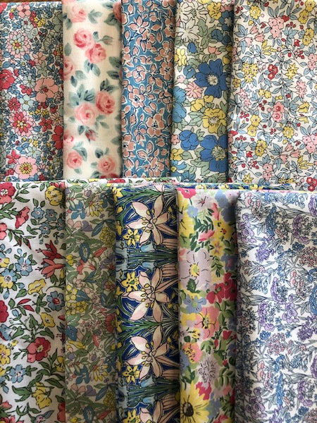 Liberty Spring Flower Show Collection  10 x Fat Quarter Pack