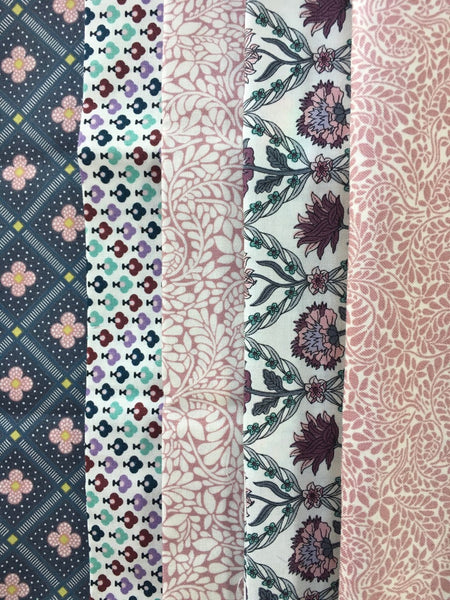 Liberty Cotton Summer House - 5 Fat Quarter Pack  4