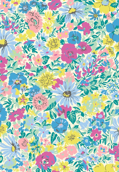 Liberty - Summer Flower Show Collection - Malvern Meadow 04775726B