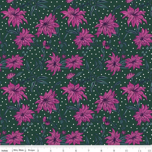 Liberty - 'Season's Greetings' Collection - Poinsettia X