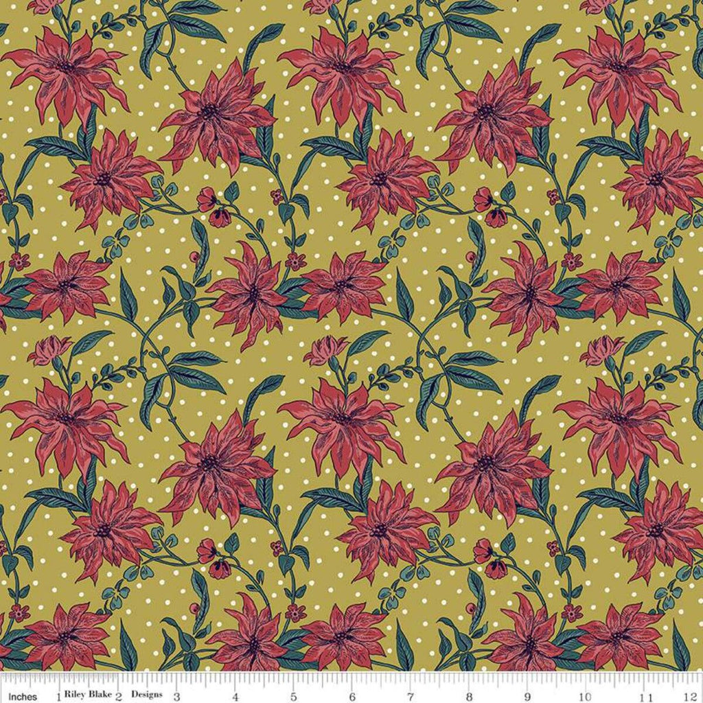 Liberty - 'Season's Greetings' Collection - Poinsettia Y