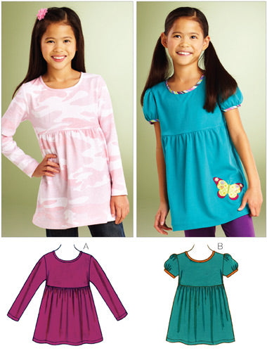 Kwik Sew 3861 - Girls' Butterfly Tops