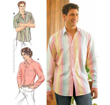 Kwik Sew 3422 - Men's Shirts
