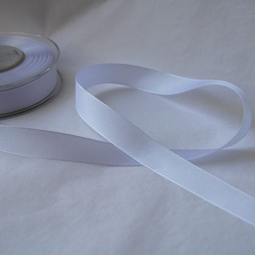 White Seam Binding - 13mm - by metre