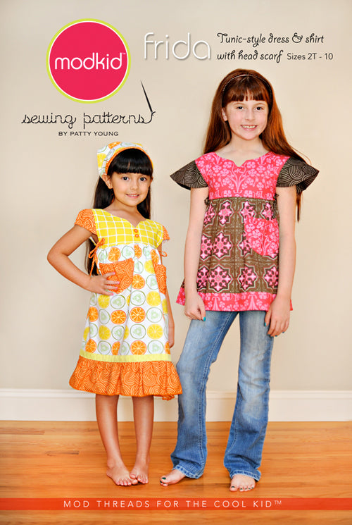 ModKid - Frida tunic-style dress & shirt