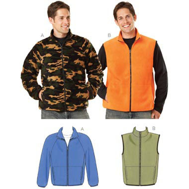 Kwik Sew 3638 - Men's Jacket & Vest