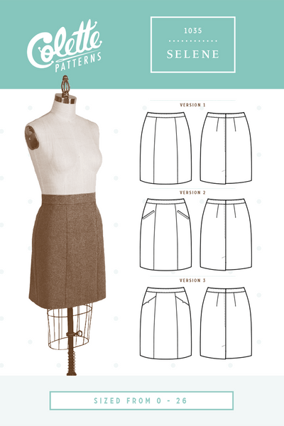 Colette Patterns - Selene - 1035