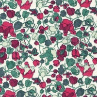 Liberty Kingly Cord Fabric - LKC03276156D - Ruby