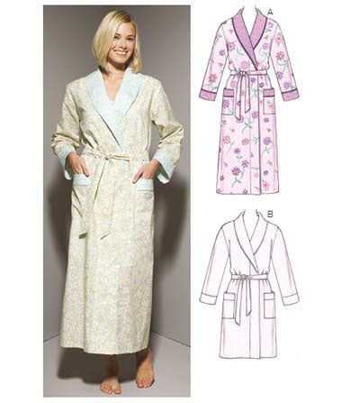Kwik Sew 3644 - Misses' Robes
