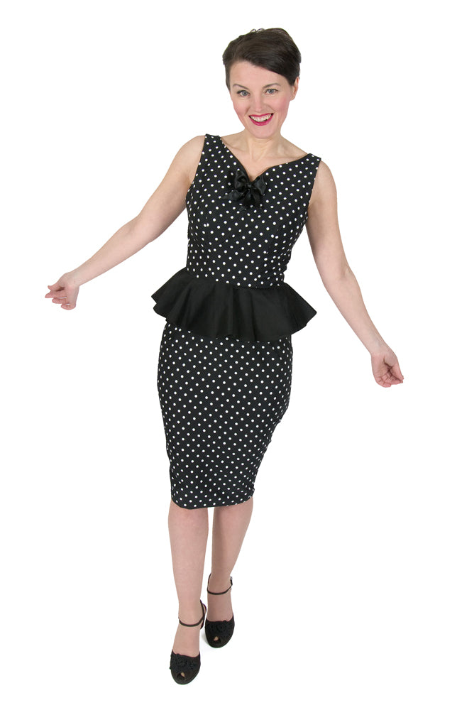 Eliza M - Lucyloo Peplum Wiggle Dress, Skirt & Top - NEW