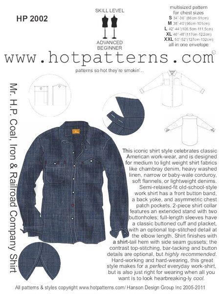 Hot Patterns 2002 - Mr H.P. Coal, Iron & Rail Company Shirt