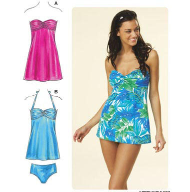Kwik Sew 3609 - Misses' Swimwear & Dress
