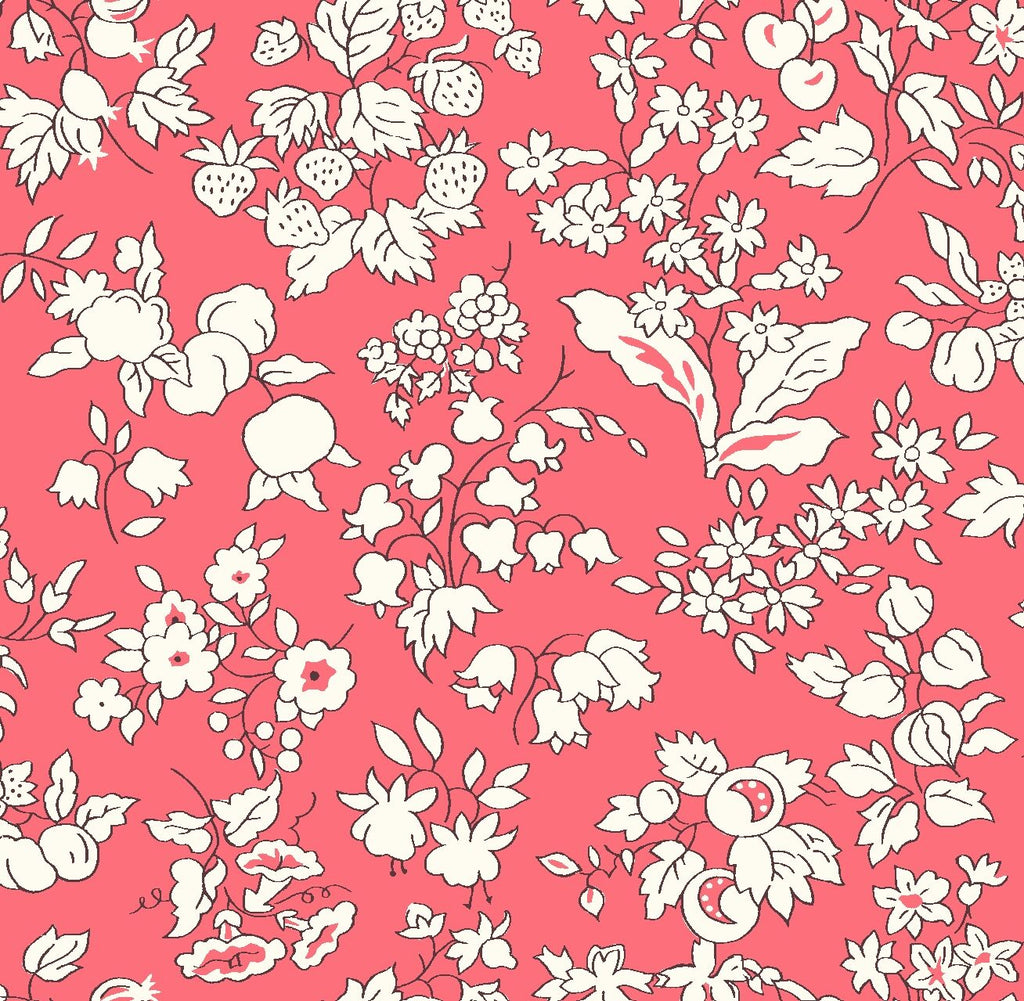 Liberty - Orchard Garden Collection - Fruit Silhouette Y (pink)