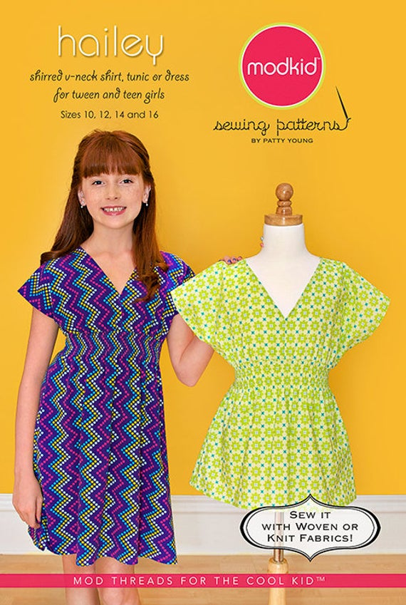ModKid - Hailey V-Neck, Tunic, Dress