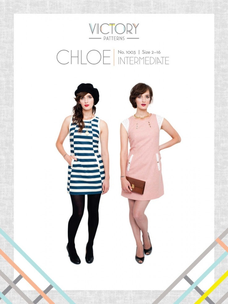 Victory Patterns - Chloe Dress