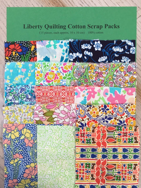 Liberty Quilting Cotton - Scrap Pack 15 piece