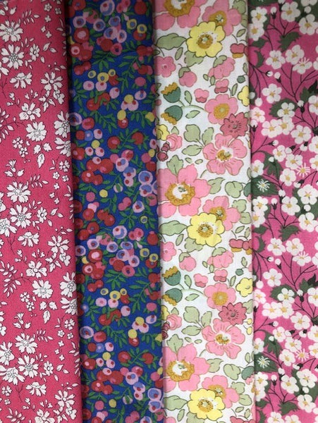 Liberty Organic Tana Lawn® - 4 piece pack (pinks)