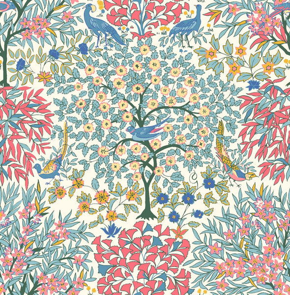 Liberty - Orchard Garden Collection - Pheasant Forest Y (pink)