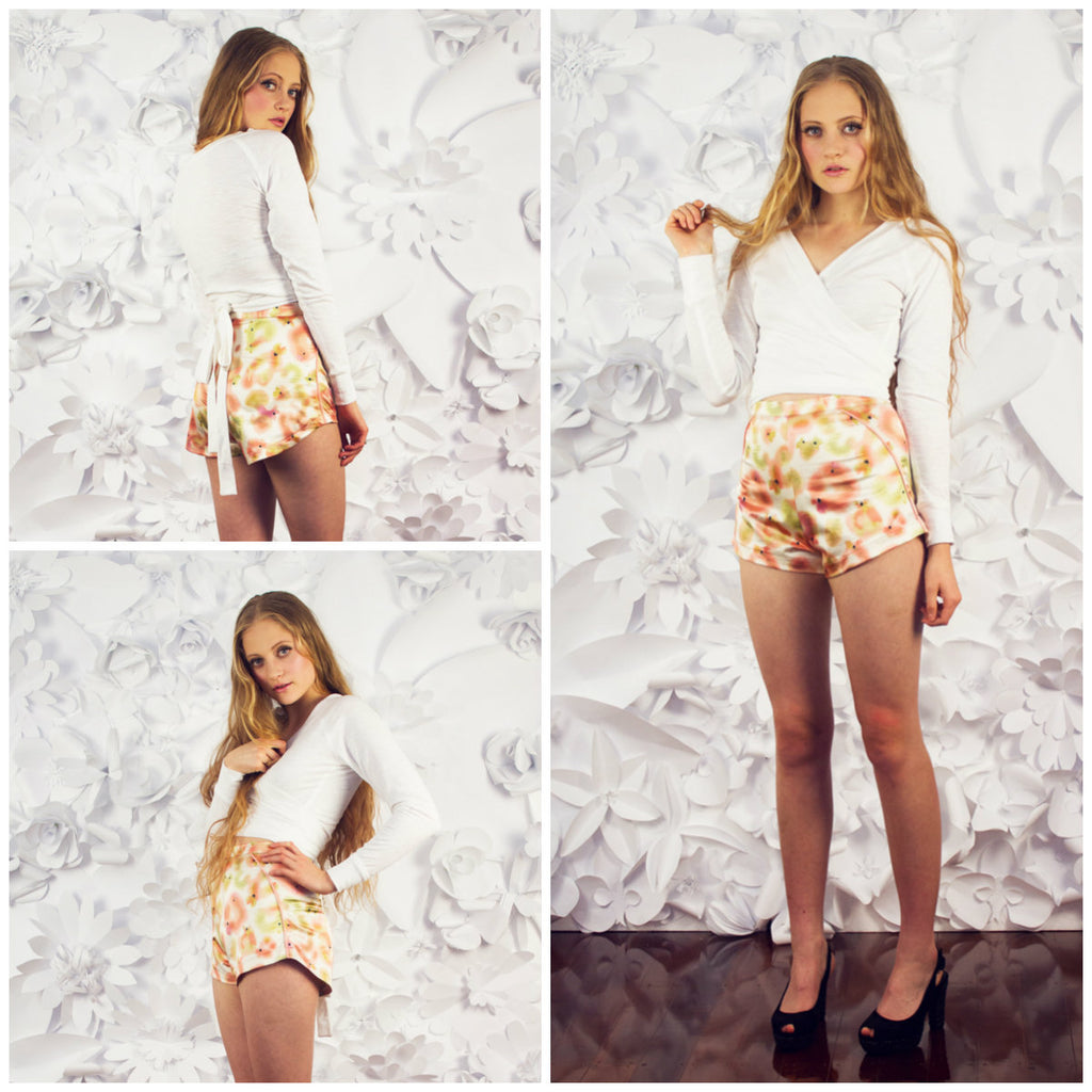 Papercut Rite of Spring Shorts - 1012