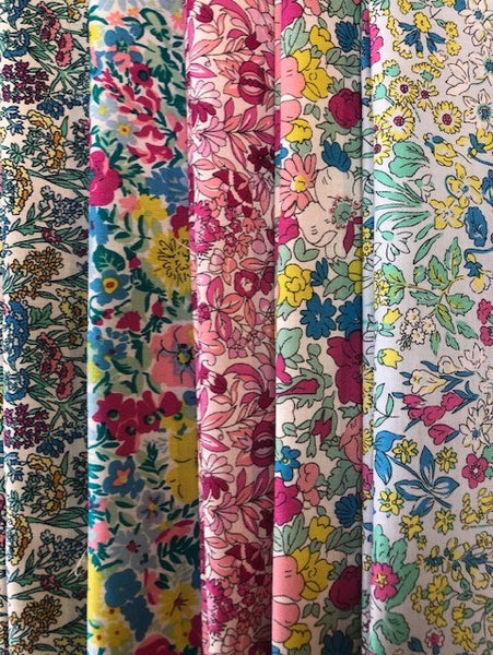 Liberty Summer Flower Show Collection  5 x Fat Quarter Pack 3
