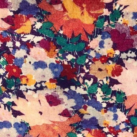 Liberty Lindford Fleece Fabric - Deborah Bright - LF03335251B