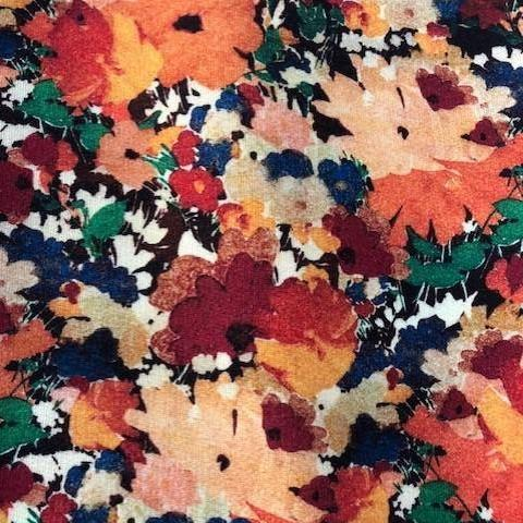 Liberty Lindford Fleece Fabric - Deborah Autumn - LF03335251A