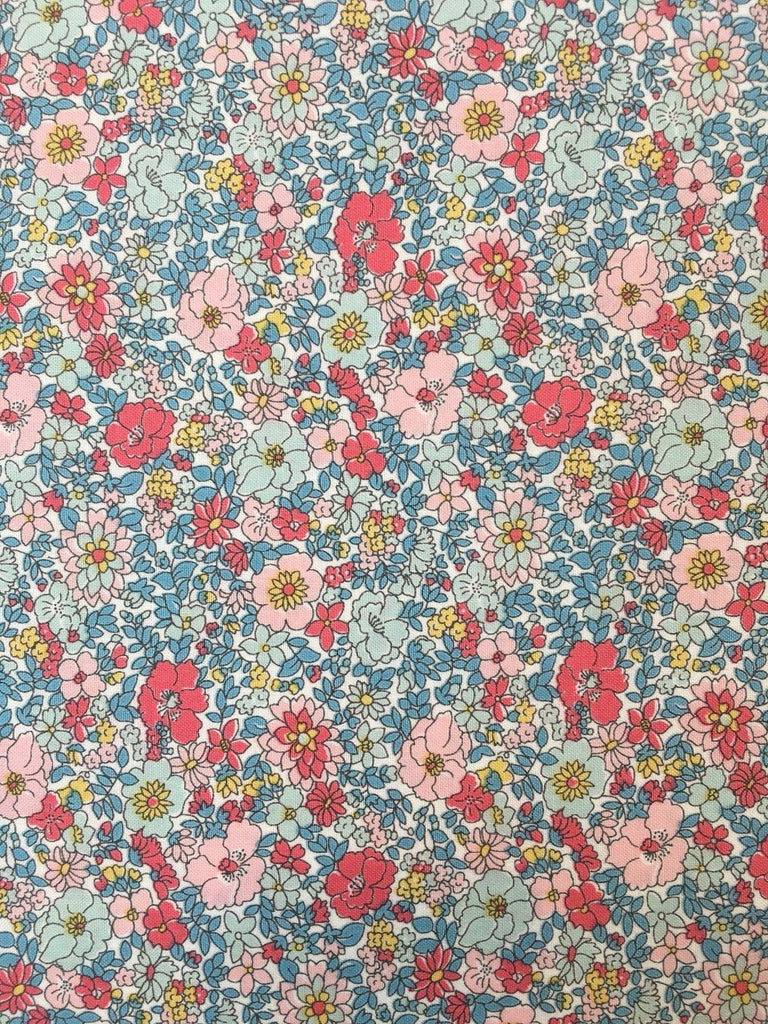 Liberty Lasenby Cotton - Spring Flower Show - Arley Gardens - 90cm piece