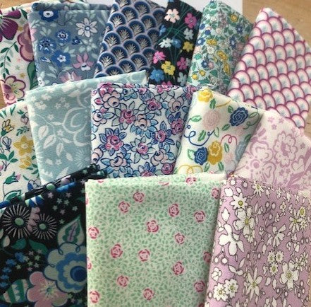 Liberty - Deco Dance - 15 x Fat Quarter Pack
